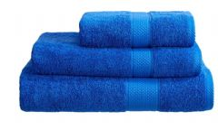 Royal Blue 100% Cotton Turkish Ringspun Towel 500 Gsm